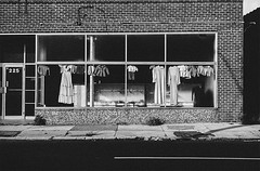 storefront (ffoster) Tags: jackson mississippi farrishstreethistoricaldistrict monochrome filmphotography scanned cityscape urban frankfoster