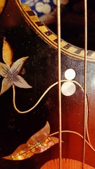 Old italian guitar - Musical instruments Macro Mondays (frenziM´s little world) Tags: macromondays guitar hmm musicalinstruments music macro