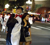 Penguin and officer (San Diego Shooter) Tags: halloween halloweencostumes sexyhalloweencostumes portrait streetphotography sandiego halloween2017
