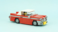 "Vintage Car ""Christine"" (de-marco) Tags: lego town city car vehicle old vintage 5stud"