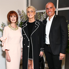 Lynn Posluns, Sharon Stone, Mark Lash