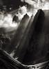 Fälenalp (chris.regg) Tags: switzerland appenzellerland ostschweiz schweiz berge mountains alpstein fälensee fälenalp bollenwees lightrays clouds wolken alpen alps bw blackandwhite strahlen