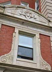 Y.W.C.A., Binghamton, NY (Robby Virus) Tags: binghamton newyork ny upstate ywca young womens christiaqn association architecture building briuck concrete window logo victorian hotel