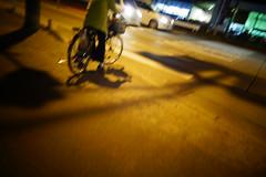 It was a yellow night. (憂-ICHIRO) Tags: street snap sony rx100