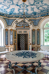 Inside the Tea House (Tony Shertila) Tags: germany nymphenburgpalace schlossnymphenburg wittelsbach architecture baroque bavaria building canal clouds estate europe fountain gardens indoor lake munchen munich pagodenburg palace sky woodland münchen bayern deu