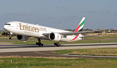 A6-EGY LMML 19-11-2017 (Burmarrad (Mark) Camenzuli) Tags: airline emirates aircraft boeing 77731her registration a6egy cn 41080 lmml 19112017