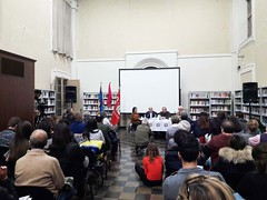 """presentazione libro oltre i cento passi (42) • <a style=""""font-size:0.8em;"""" href=""""http://www.flickr.com/photos/99216397@N02/37706873635/"""" target=""""_blank"""">View on Flickr</a>"""