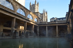 The Baths at Bath (CoasterMadMatt) Tags: theromanbaths2017 romanbaths2017 theromanbaths romanbaths roman baths bath greatbath springwater geothermalwater spring geothermal water waters steam steaming georgianarchitecture georgian romanarchitecture romanbritain romanhistory theromans romans englishhistory englishheritage building structure architecture somerset england southwestengland britain greatbritain gb unitedkingdom uk autumn2017 november2017 autumn november 2017 coastermadmattphotography coastermadmatt photos photographs photography nikond3200