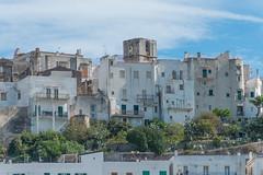 Peschici - vista dalla spiaggia al centro storico (MoJo0103) Tags: italien italy italia puglia apulien gargano peschici