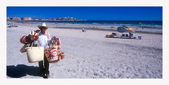 basket vender (johnwise60) Tags: rockypoint mexico people beach