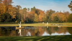 Studley Royal Water Gardens (Rob A Atkins) Tags: england unitedkingdom gb nationaltrust fountainsabbey studleyroyal watergarden autumn landscape waterscape ripon yorkshire