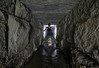 Stone groove (desertchick-) Tags: urbex urban exploring exploration draining drain drainor sewer drainors spelunking underground storm tunnel tunnels stone brook desertchick desert chick female explorer