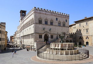 Piazza IV Novembre is located in the heart of Perugia