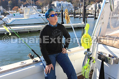Getting on the Boat (DmanExtreme) Tags: reelmaxlife reel reelmax dman dmanextreme extreme jersey penn linecutterz line cutterz captain mike key fishing charters bass tog black fish boat viking