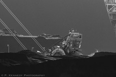 Neptune Series (kenner2356) Tags: neptunecoalterminal sony70400g sonya77 coal waterfront industry blackandwhite northvancouver