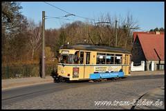 32-2014-03-13-2-Schleusestraße (steffenhege) Tags: woltersdorf strasenbahn streetcar tram gothawagen t57m 32