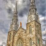 Ottawa Ontario ~ Canada ~ Notre-Dame Cathedral Basilica ~ National Historic Site of Canada _ Exterior thumbnail
