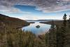 Emerald Bay - Lake Tahoe - Califonia (Slobodan Miskovic) Tags: laketahoe california emerald bay nature forest lake clouds nikond750 nikon2470mmf28 bw cpl