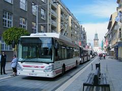 Pardubice 65th trolleybus anniversary (johnzebedee) Tags: trolleybus transport publictransport pardubice czechrepublic johnzebedee skoda