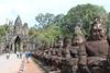 South gate of Angkor Thom (nnnina78) Tags: asia southeastasia südostasien asien kambodscha cambodia gate angkorarchaeologicalpark angkor citygate khmerarchitecture khmer 12thcentury bridge demons sculpture sculptures bayonstyle angkorthom