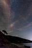 Beach, Clouds, Stars (The Hobbit Hole) Tags: beach nikon d700 vertorama stars sunj elaphitres lopud croatia nightscape cloud sea