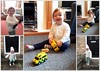 A 'Bess' day today! (Mike-Lee) Tags: bess grandchild grandchildren grandparents collage picasa ambulance toys bessday