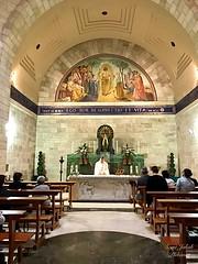 73 - Szentmise Lázár templomában - Betánia / Svätá omša v Kostole sv. Lazara - Betánia