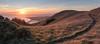 Another Day Done (Matt McLean) Tags: bayarea bolinas california hiking landscape marin panorama path sunset tamalpais trail