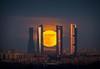 Luna llena diciembre 2017 (Javier Martínez Morán) Tags: moon moonrise luna llena fullmoon supermun superluna torres madrid spain jmartinezmoran