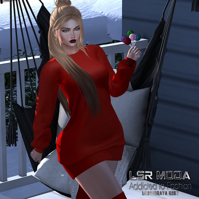 [ LsR ] - Sexy Meiss Sweater Dress Knit