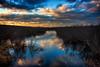 blue lagoon (david_sharo) Tags: nature landscape pymatuming sunset neutraldensityfilter vivid vibrant pennsylvania water
