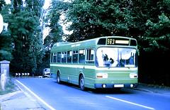 Slide 111-20 (Steve Guess) Tags: send surrey england gb uk lcbs london country bus leyland national route963 newinn canal bridge lpb195p snb195