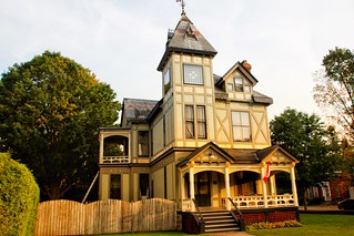 Brockville Ontario - Canada - Dunkeld House ~ High Victorian Architecture  - Susan and John MacKenzie Mansion  - 1880