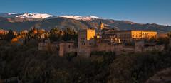 Autumn Citadel (Gorka Vega Creative) Tags: alhambra otoño d750 granada ciudadela españa reino nazari al andalus sierra nevada nieve atardecer puesta sol sunset paisaje