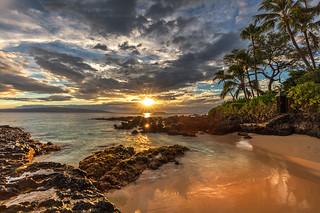 Golden Maui Sunset