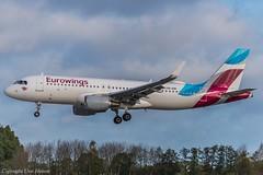 Eurowings OE-IQB (A) (U. Heinze) Tags: aircraft airlines airways flugzeug eddv haj hannoverlangenhagenairporthaj nikon