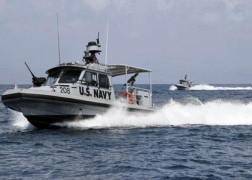 Sailors Manuever Through Gulf of Tadjoura