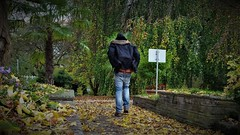 Herbst Fall Autumn (marcostetter) Tags: park parka public people popart jeans bluejeans nature landscape awesome autumn art ass asics fashion