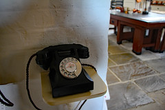 Telephone (Canadian Pacific) Tags: england english great britain british manor house stately home mansion hertfordshire hatfield al9 jacobean building architecture 1600 1610 1600s 1610s telephone landline land line 2016aimg1776 kitchen