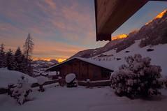 Die Sonne kommt (hugoholunder) Tags: winter tirol alpbach flickr sonnenaufgang schnee