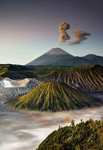 Bromo mountain, East Java, Indonesia