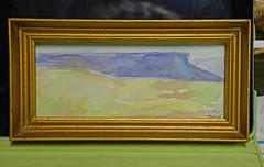 Out West - Watercolor (BKHagar *Kim*) Tags: bkhagar painting paint acrylic art artwork mountain desert mojave butte landscape
