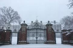 Snow Day (Cjin99) Tags: providence rhodeisland unitedstates us ri brownuniversity snow gates architecture collegehill winter georgian georgianarchitecture