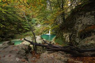 Cascada en el Urederra