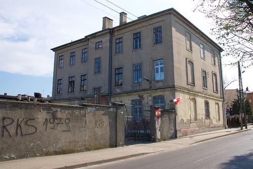 Dawne więzienie w Łęczycy od północy