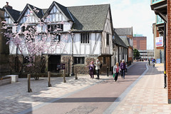 St Martins The Lanes (Charcon Commercial Hard Landscaping - Spec Team) Tags: charcon andover washed pink granite heather porphyry silver block paving public realm urban spaces footpaths leicester uk