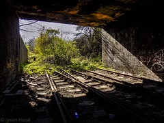 Wednesbury Town Station (Jason_Hood) Tags: disused abandoned railway railroad wednesbury