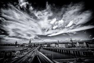 A piece of  Stockholm sky