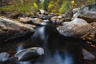 Last of Fall Colors on Deer Creek