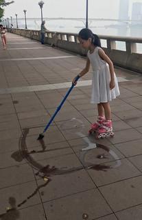 Little Street Painter
